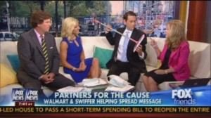 Cleaning for a Reason on Fox News