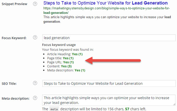 Lead Generation for SEO
