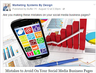 Facebook Business Page Post