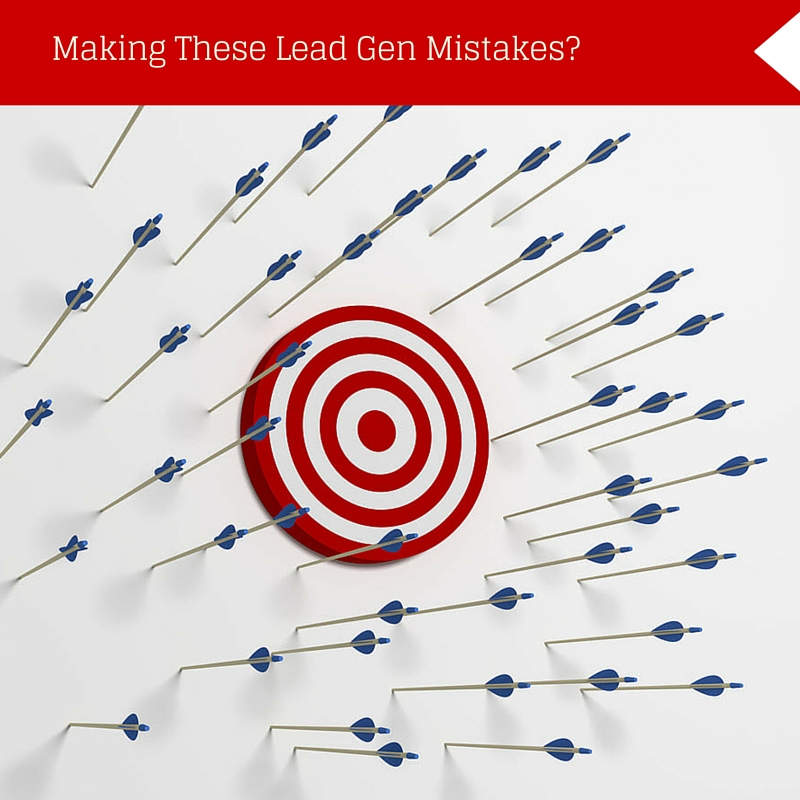Are you making these lead generation mistakes?