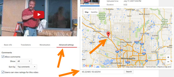 How to geo tag YouTube videos for local SEO