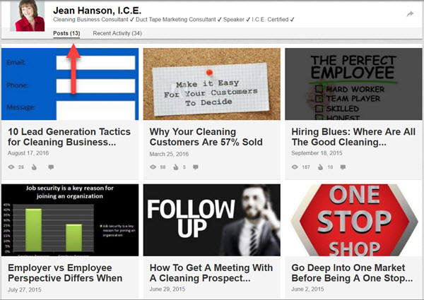 Publish your articles enhance your personal brand on LinkedIn