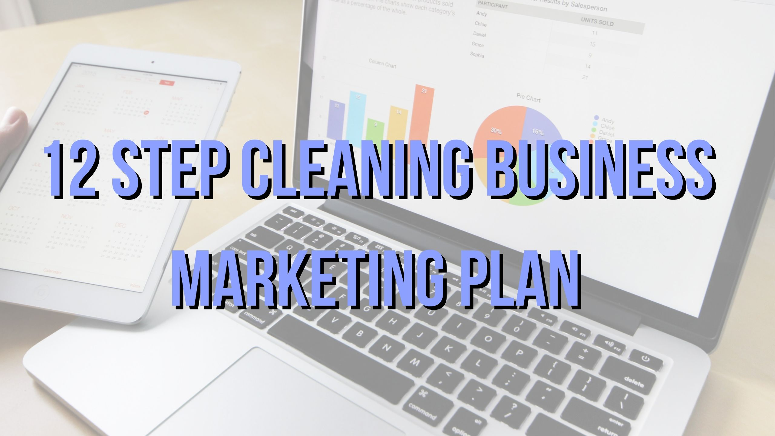 Cleaning Business Marketing Plan