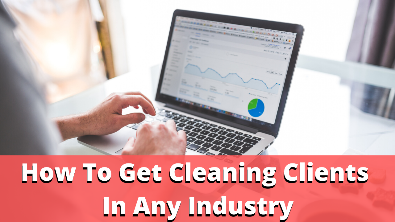 how to get new clients for your cleaning business with industry pages