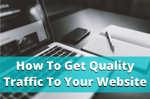 Getting traffic to your website