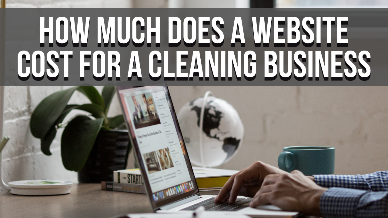how much does a website cost for a cleaning business