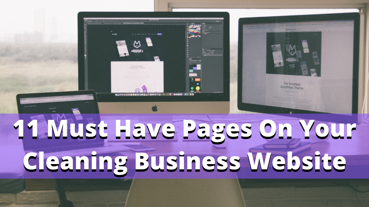 11 must have pages on a commercial cleaning website